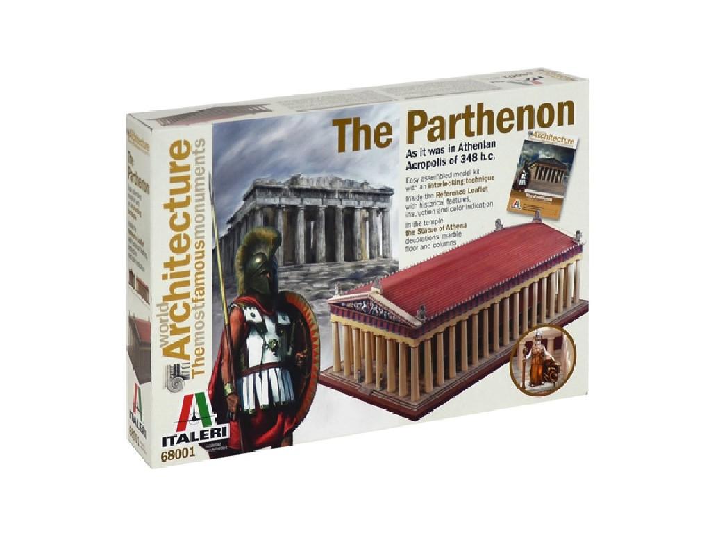World of Architecture budova 68001 - PARTHENON (34.5 cm)
