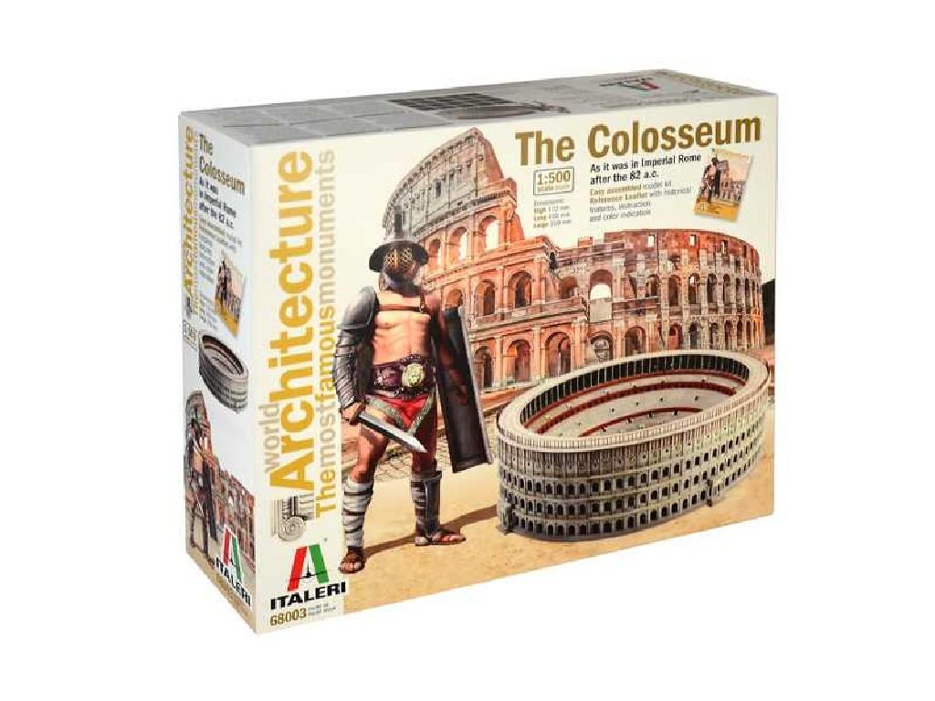 1/500 World of Architecture budova 68003 - COLOSSEUM