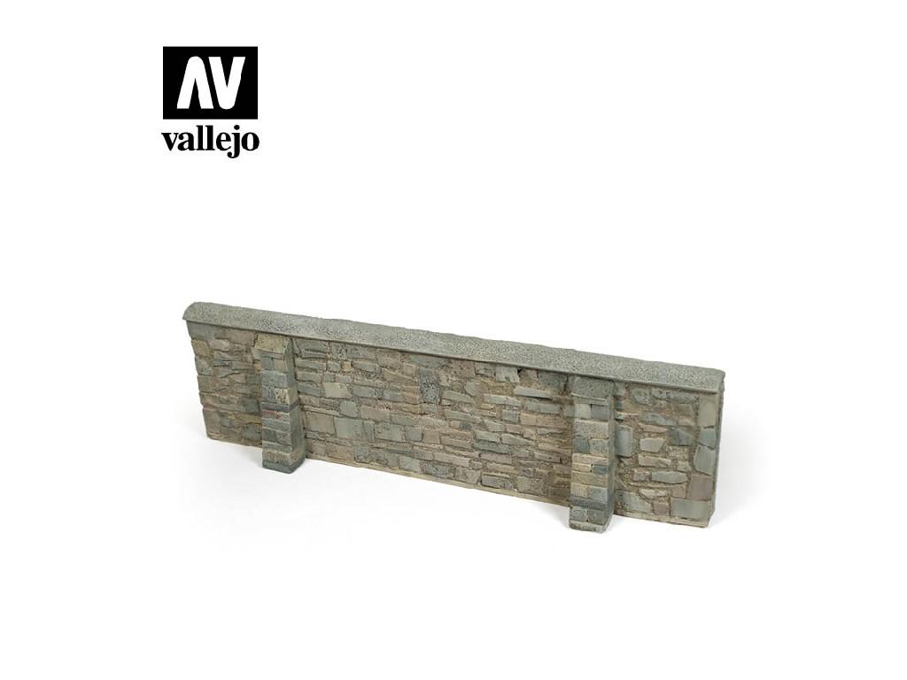 Vallejo - Scenics SC106 Vesnická zeď v Ardenách 24x7cm 1/35