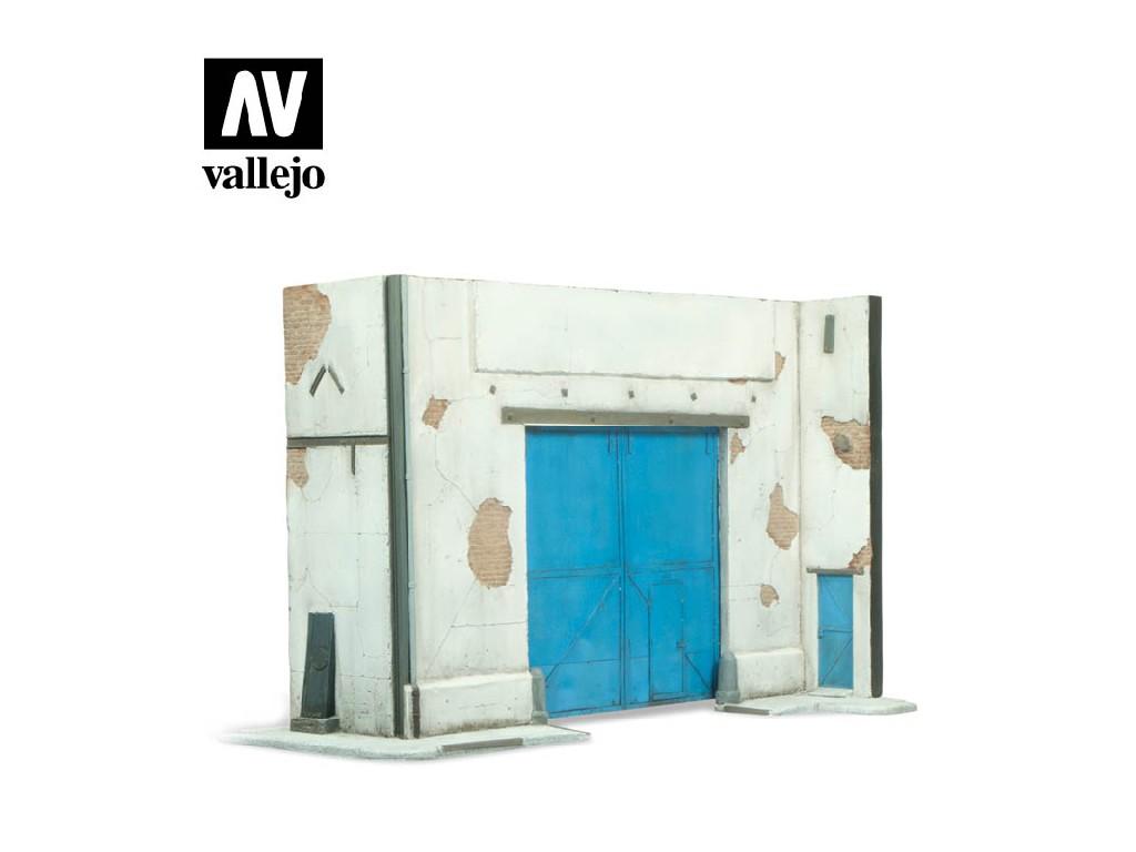 Vallejo - Scenics SC107 Tovární zeď 31x16x20cm 1/35