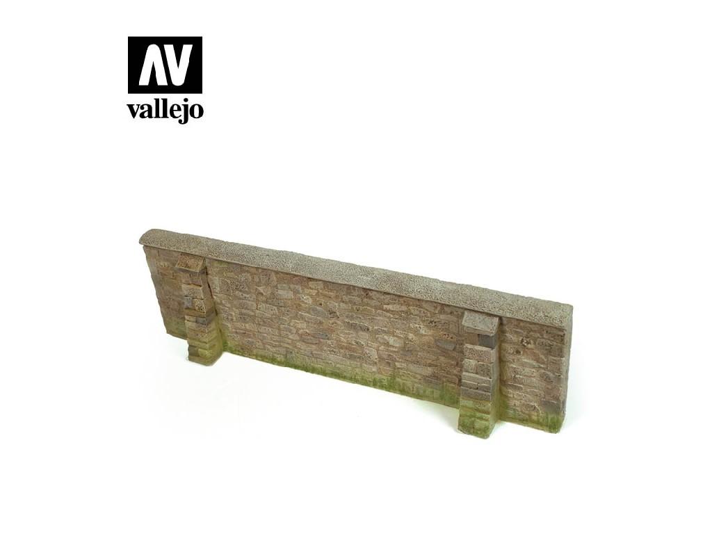 Vallejo - Scenics SC109 Zeď v Normandii 24x7cm 1/35