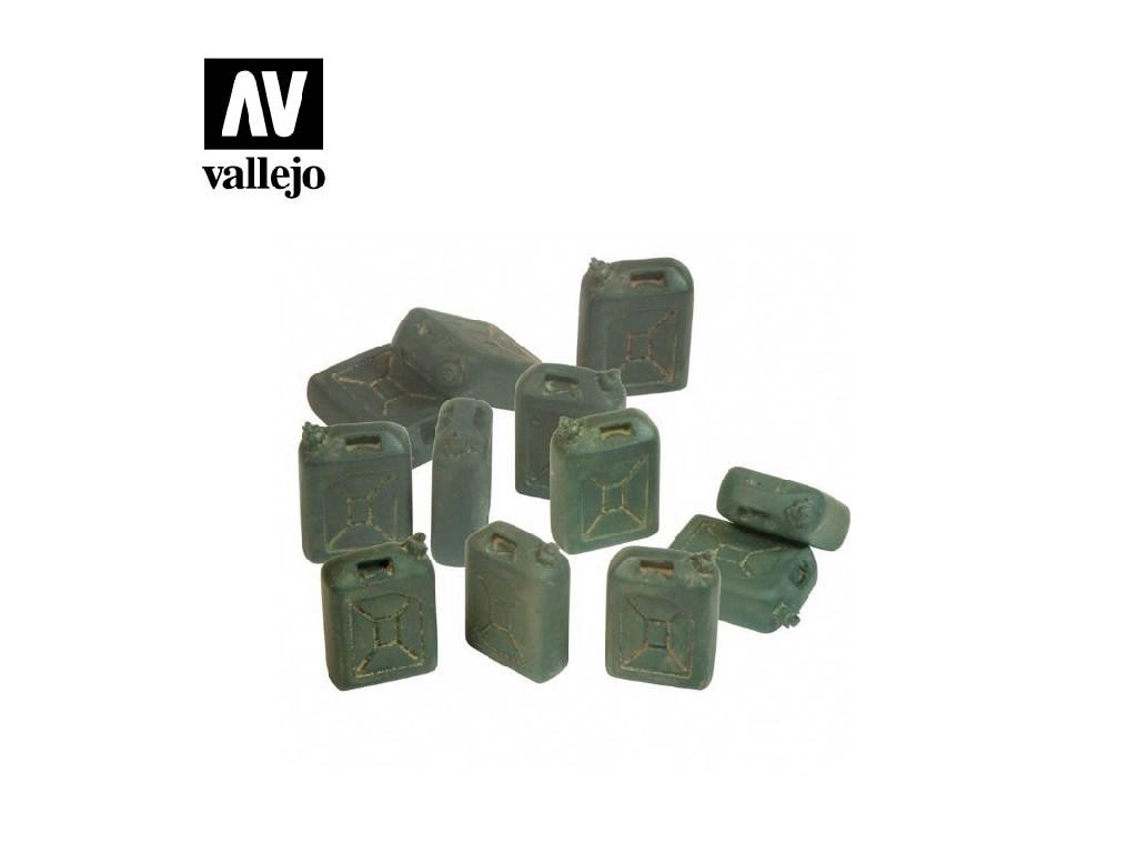 Vallejo - Scenics SC208 Kanystry na palivo - Izrael 1/35