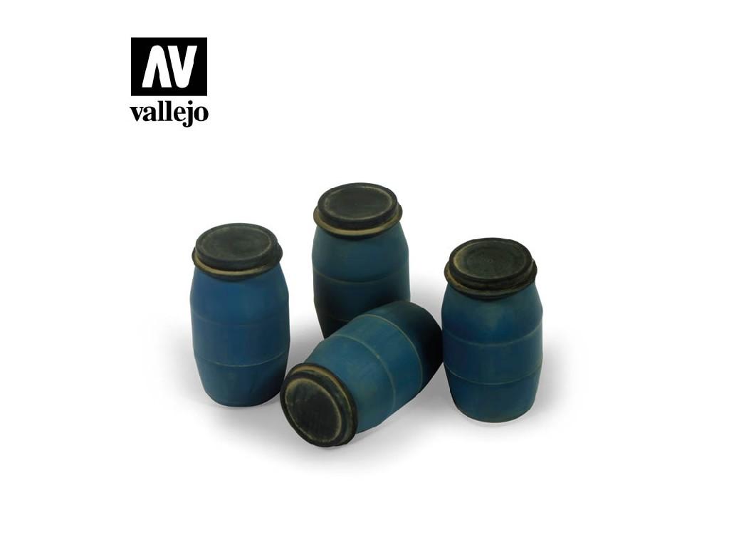 Vallejo - Scenics SC210 Moderní plastové barely 1 1/35