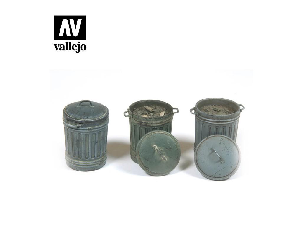 Vallejo - Scenics SC212 Popelnice 1 1/35