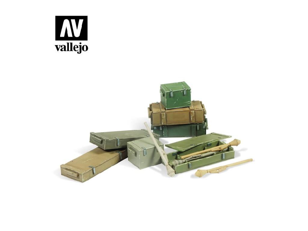 Vallejo - Scenics SC222 Panzerfaust 60 M set 1/35
