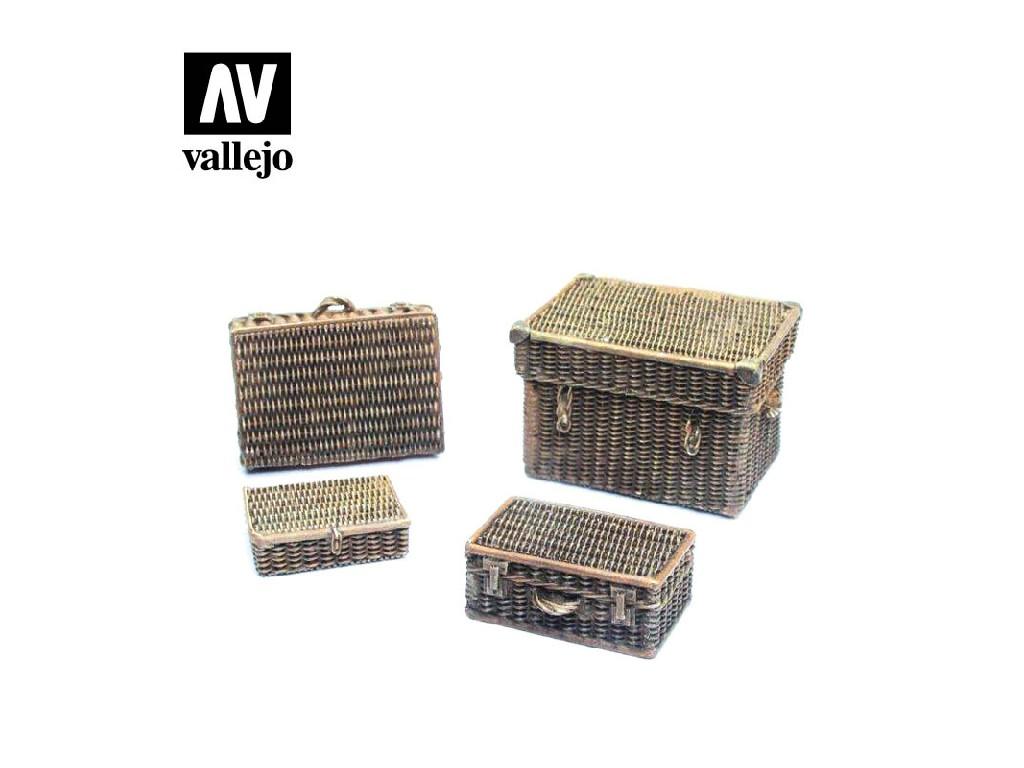 Vallejo - Scenics SC227 Proutěné kufry 1/35