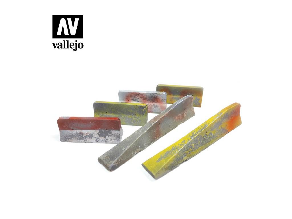 Vallejo - Scenics SC228 Městské betonové bariéry 1/35