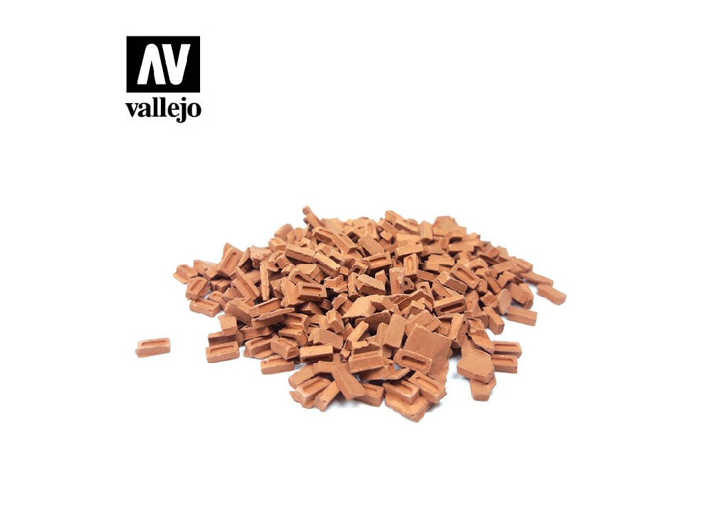 Vallejo - Scenics SC232 Barevné cihly 1/35