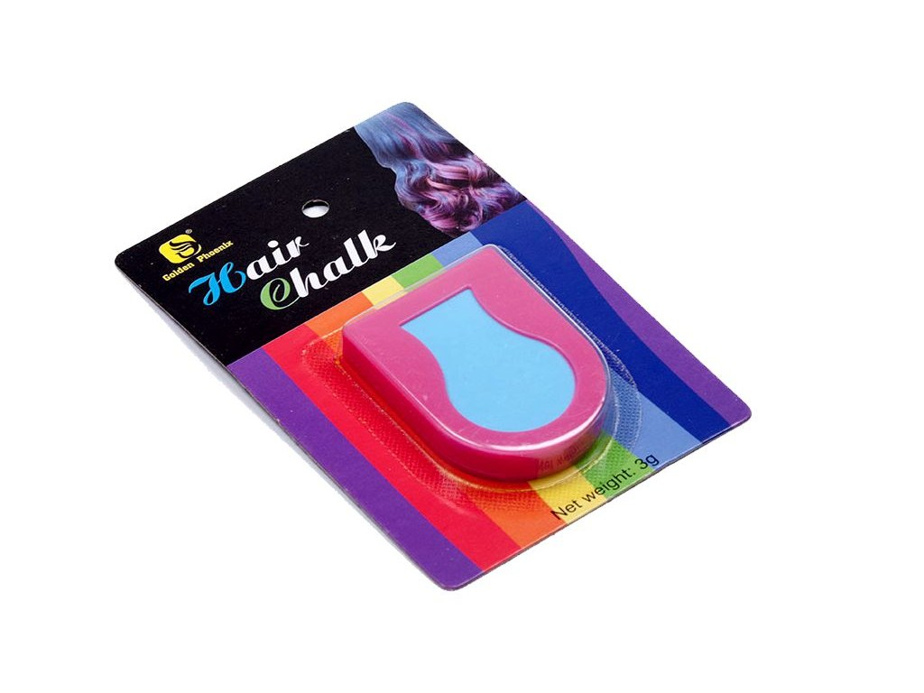 Smývatelná barva na vlasy - Pink 3g, blistr