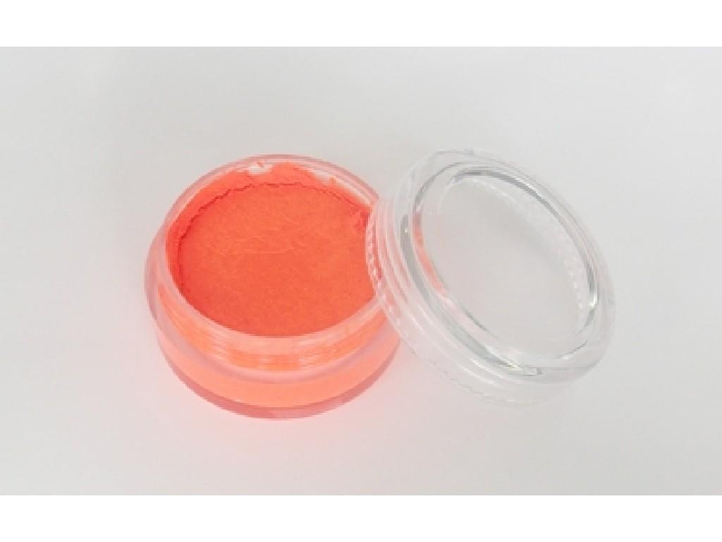 Fluorescentní barva na obličej 10ml orange red