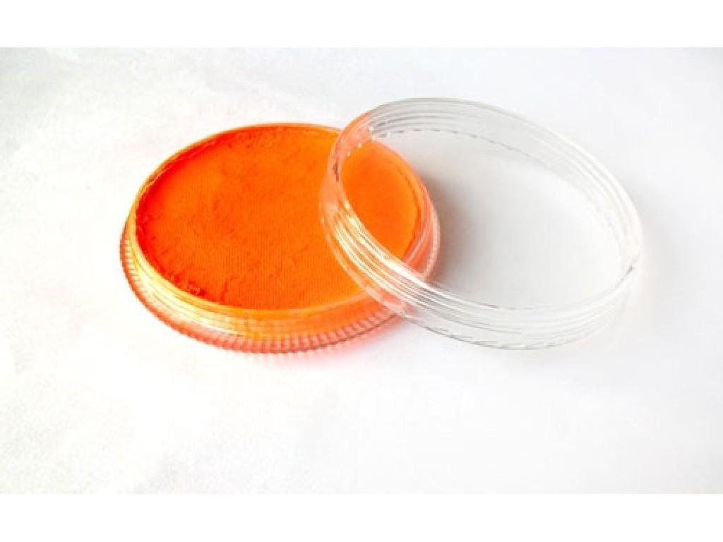Fluorescentní barva na obličej 30ml orange red