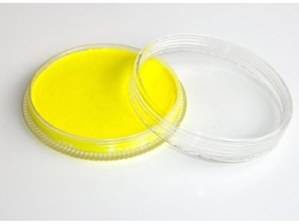 Fluorescentní barva na obličej 30ml yellow