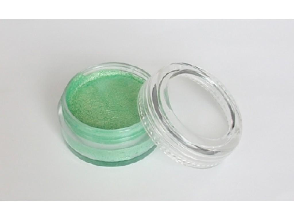 Perleťová barva na obličej 10ml light green