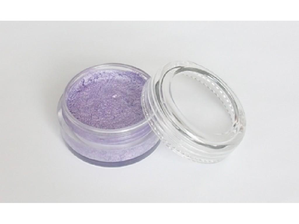 Perleťová barva na obličej 10ml light purple