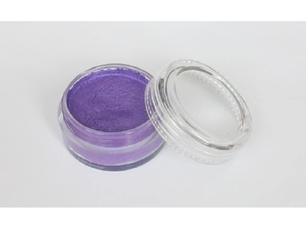 Perleťová barva na obličej 10ml purple