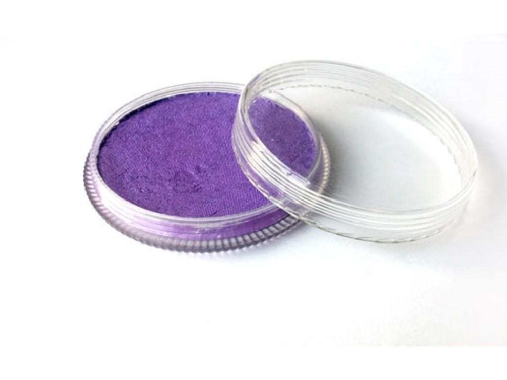 Perleťová barva na obličej 30ml purple