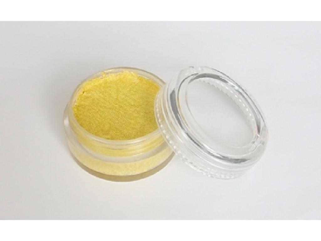 Perleťová barva na obličej 10ml yellow
