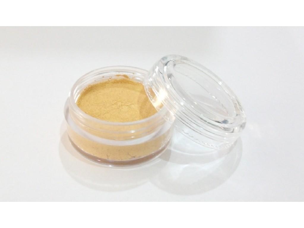 Perleťová barva na obličej 10ml golden