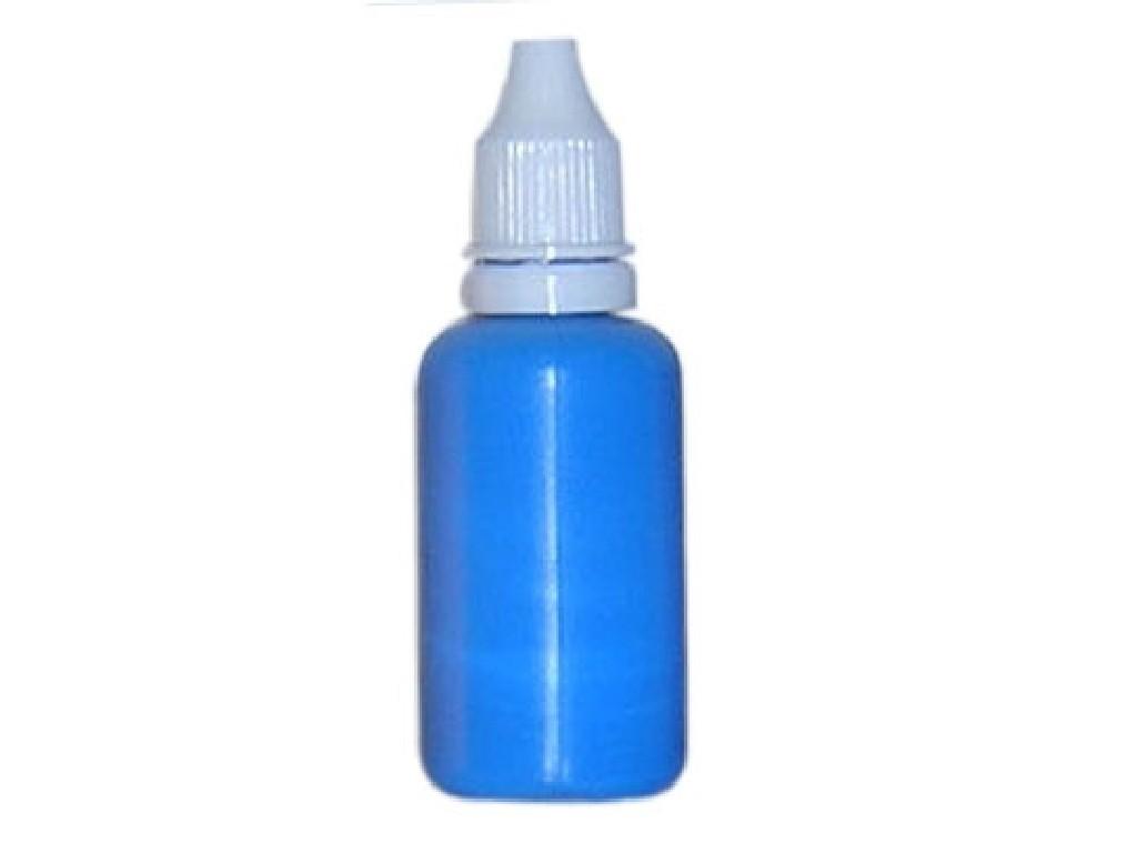 Barva na nehty fluorescentní blue lake 30 ml