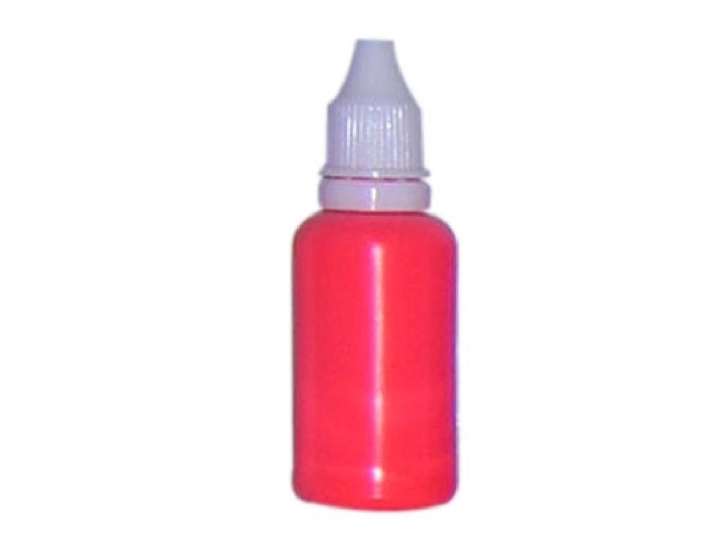Barva na nehty fluorescentní scarlet 30 ml