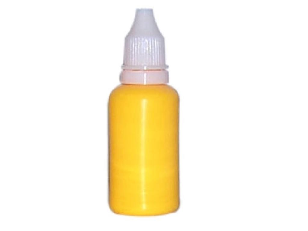 Barva na nehty fluorescentní golden 30 ml