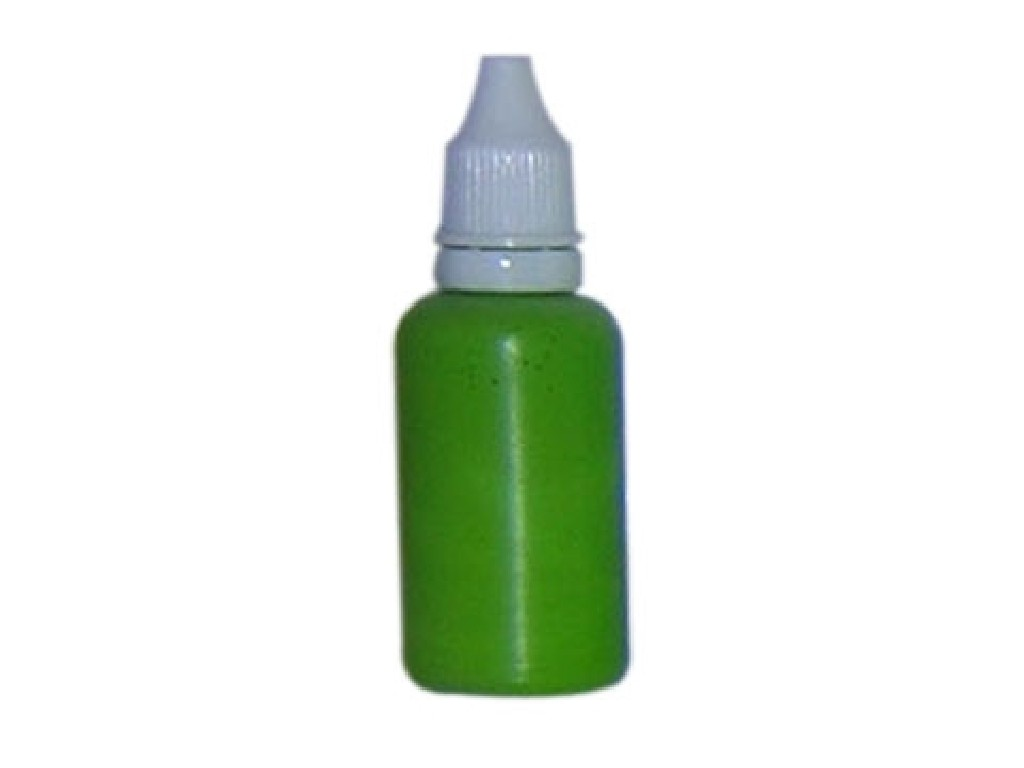 Barva na nehty mid green 30ml