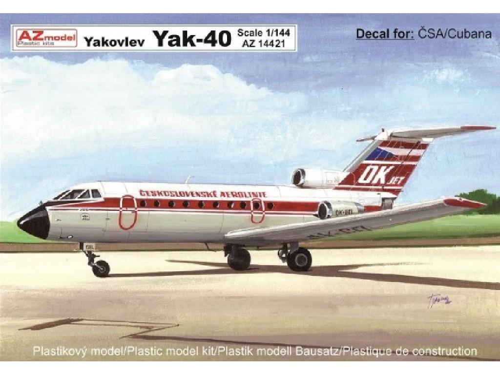 1/72 Jak - 40 ČSA, Cubana