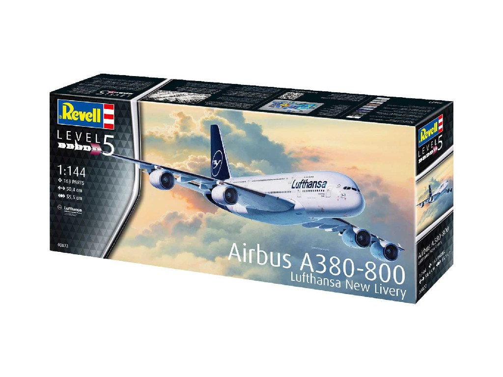 1/144 Airbus A380-800 Lufthansa New Livery