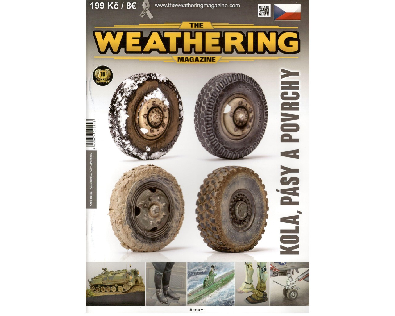The Weathering Magazine - Kola, pásy a povrchy