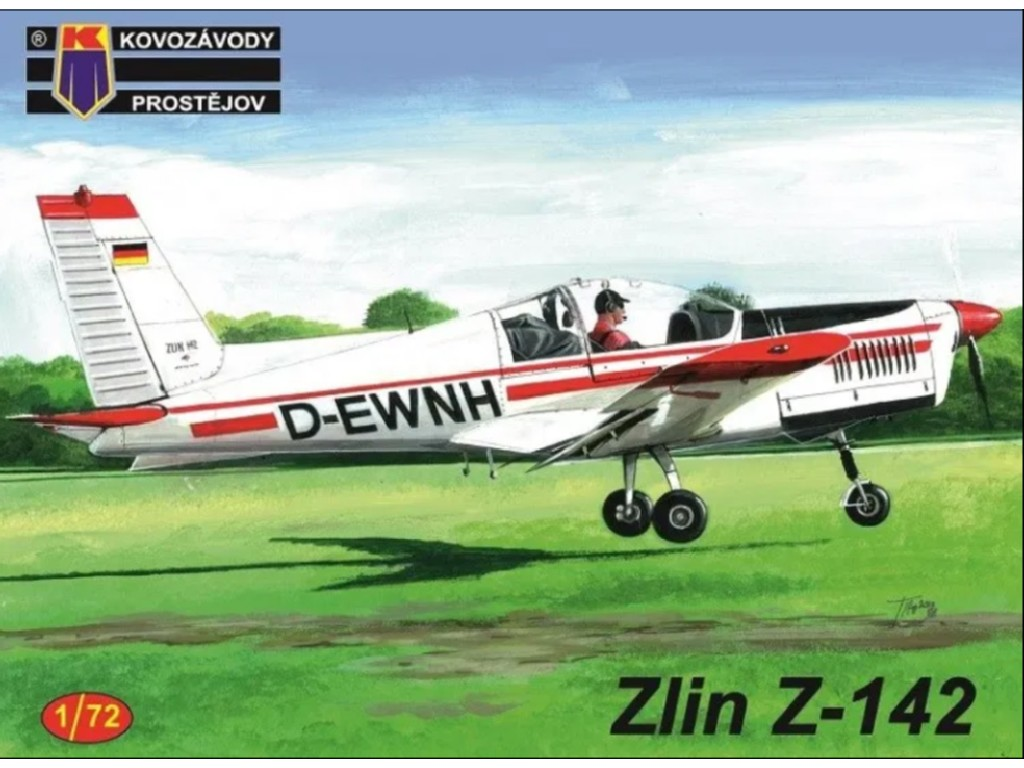 1/72 Zlin Z-142