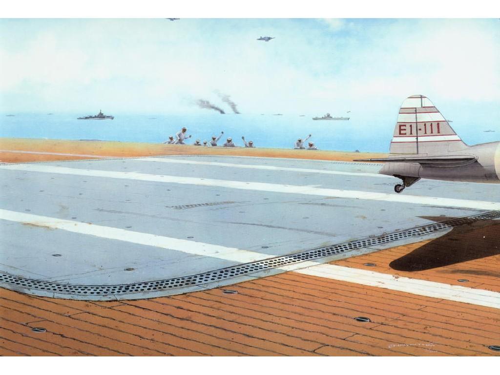 1/48 IJN Aircraft carrier deck WWII