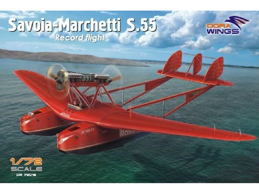 1/72 Savoia-Marchetti S.55 Record Flight