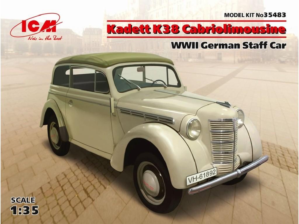 Kadett K38 Cabriolimousine German Staff Car