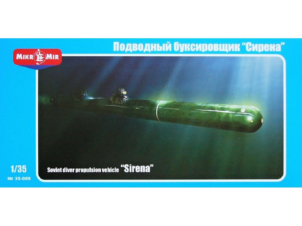 1/35 Soviet diver propulsion vehicle Sirena