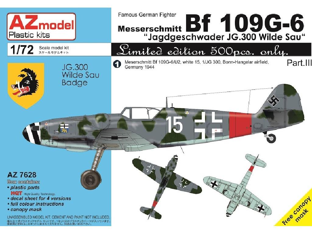 1/72 Bf 109G-6 JG.300 Pt.III