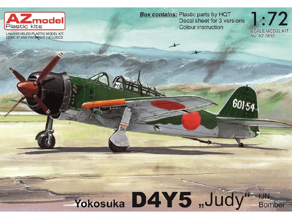 1/72 Yokosuka D4Y5 Judy IJN Bomber