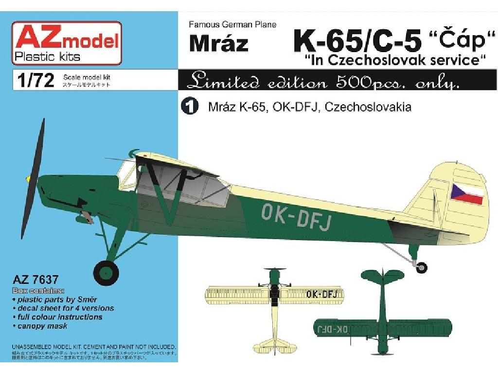 1/72 K-65/C-5 Čáp In Czechoslovak service