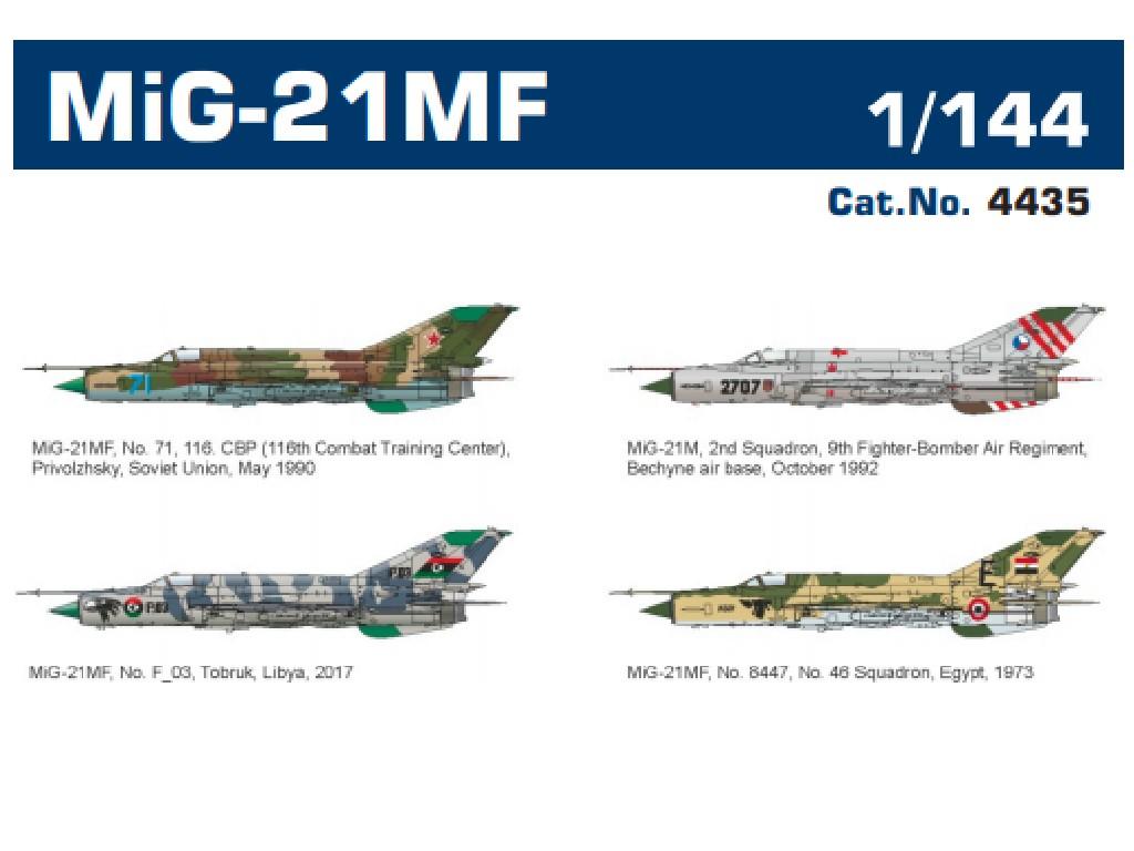 1/144 MiG-21MF