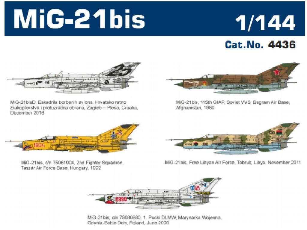 1/144 MiG-21bis