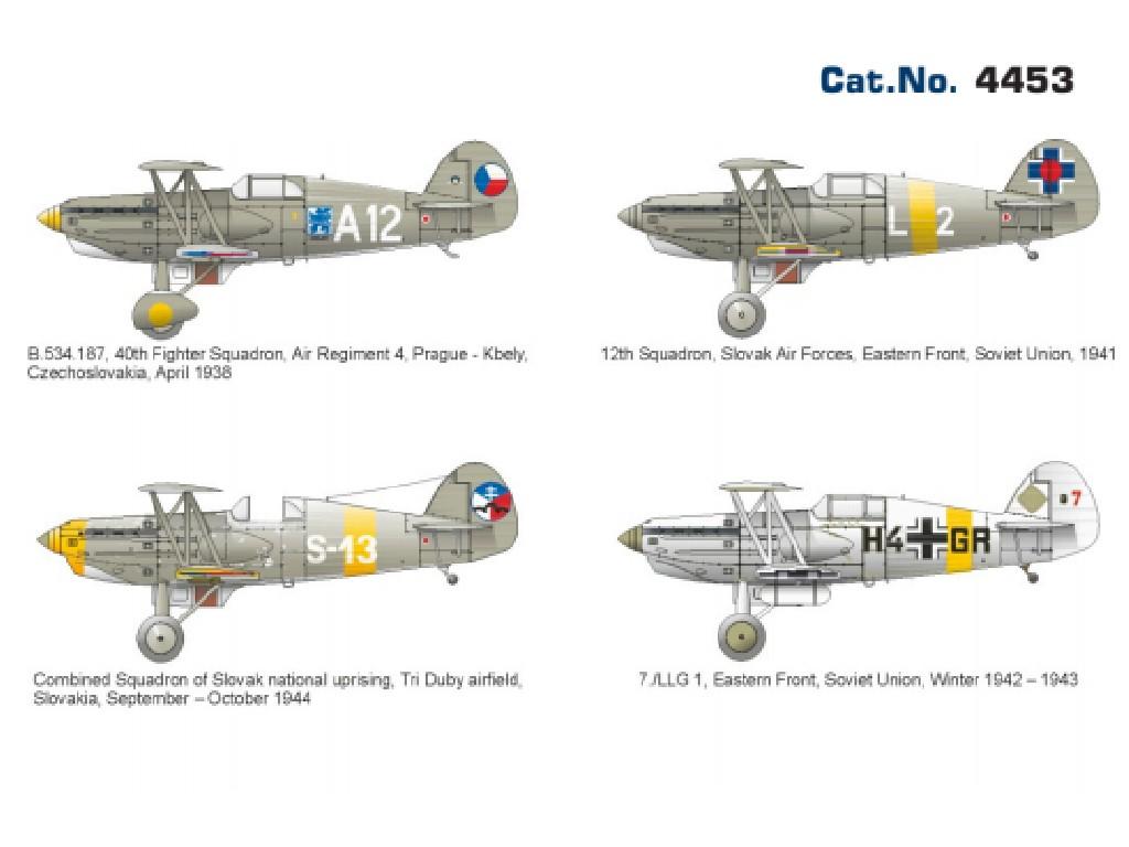 AKCE 1/144 Avia B.534 IV. serie