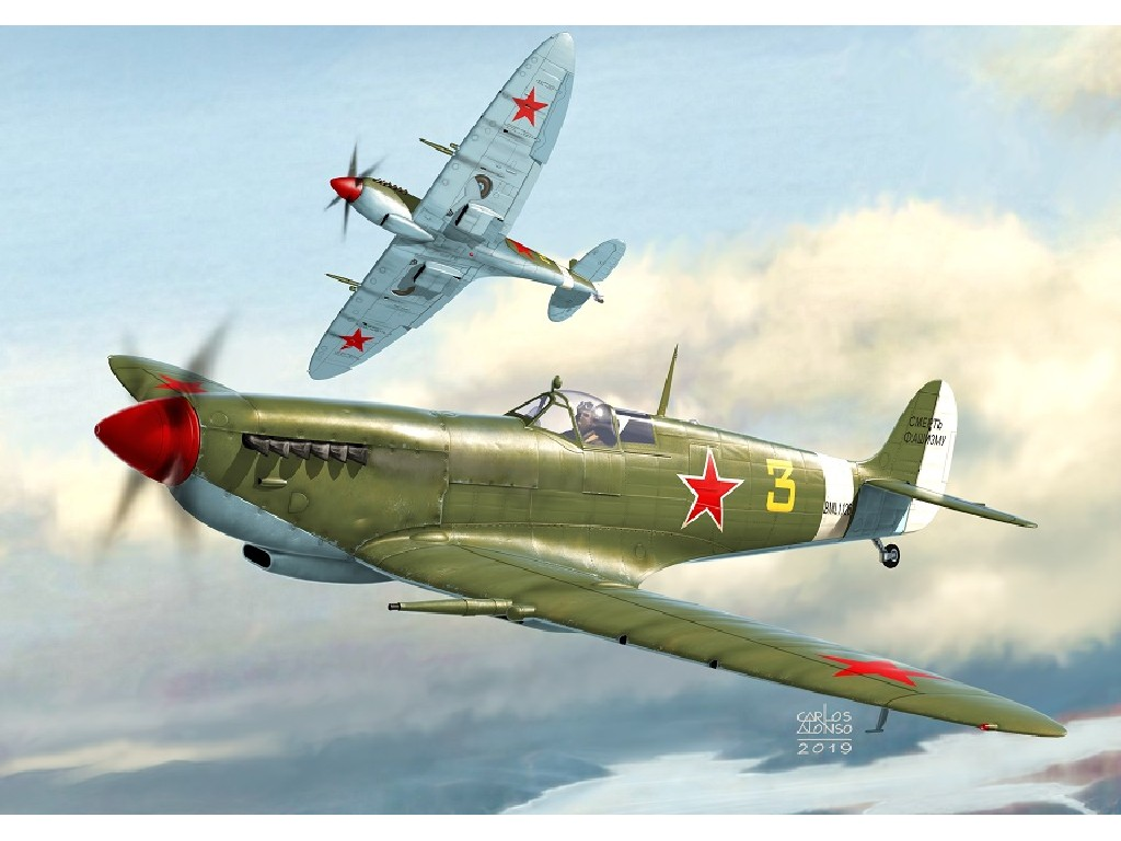 1/72 Spitfire Mk.IX Spitfire Stars