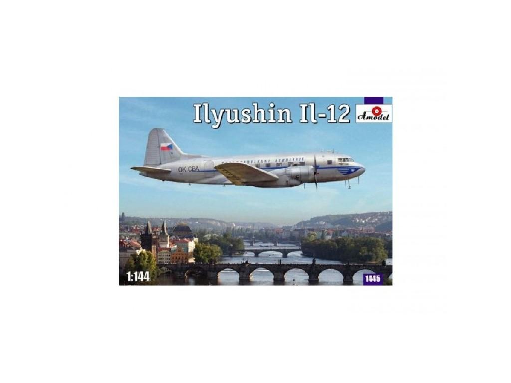 1/144 Amodel 1445 ILYUSHIN IL-12 Czech version