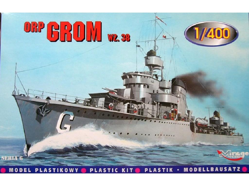 1/400 ORP GROM wz.38 Polish Destroyer WWII