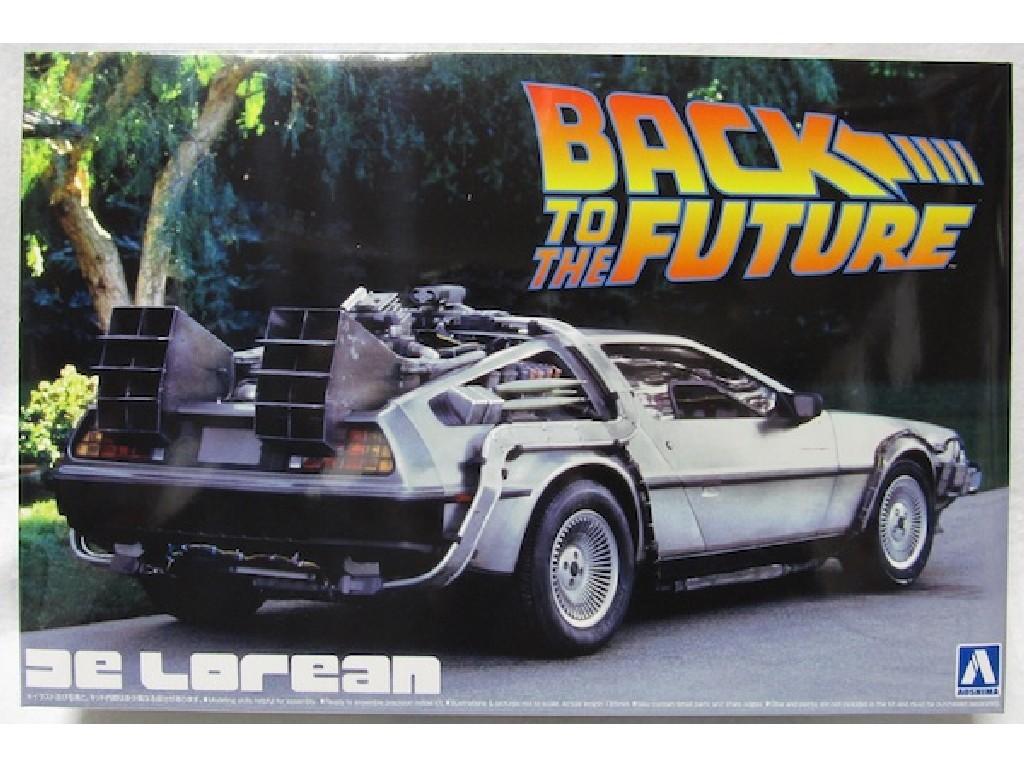 1/24 Delorean back to the future