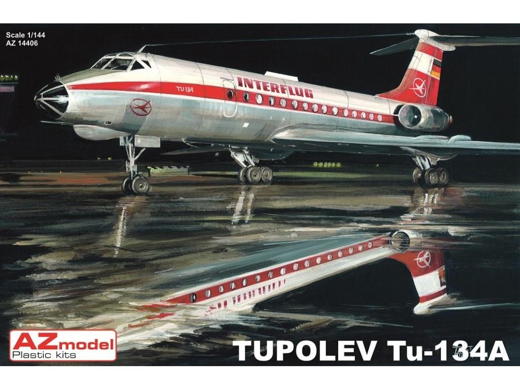 1/144 Tupolev Tu-134A ČSA, INTERFLUG