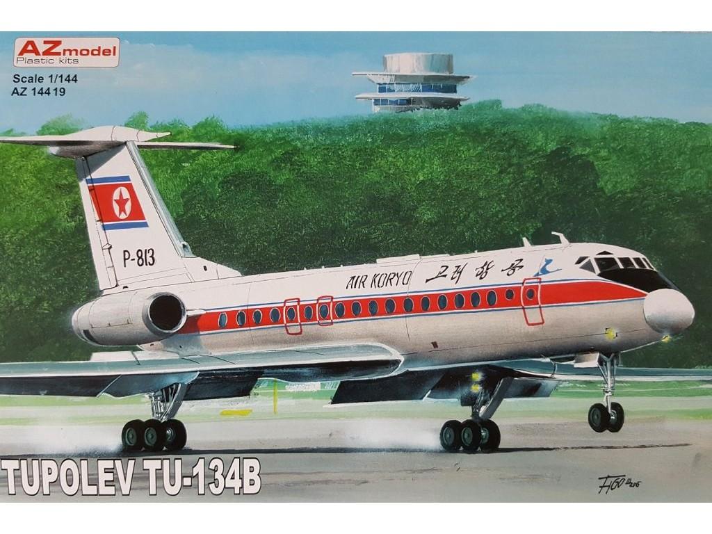 1/144 Tupolev Tu-134B Air Koryo