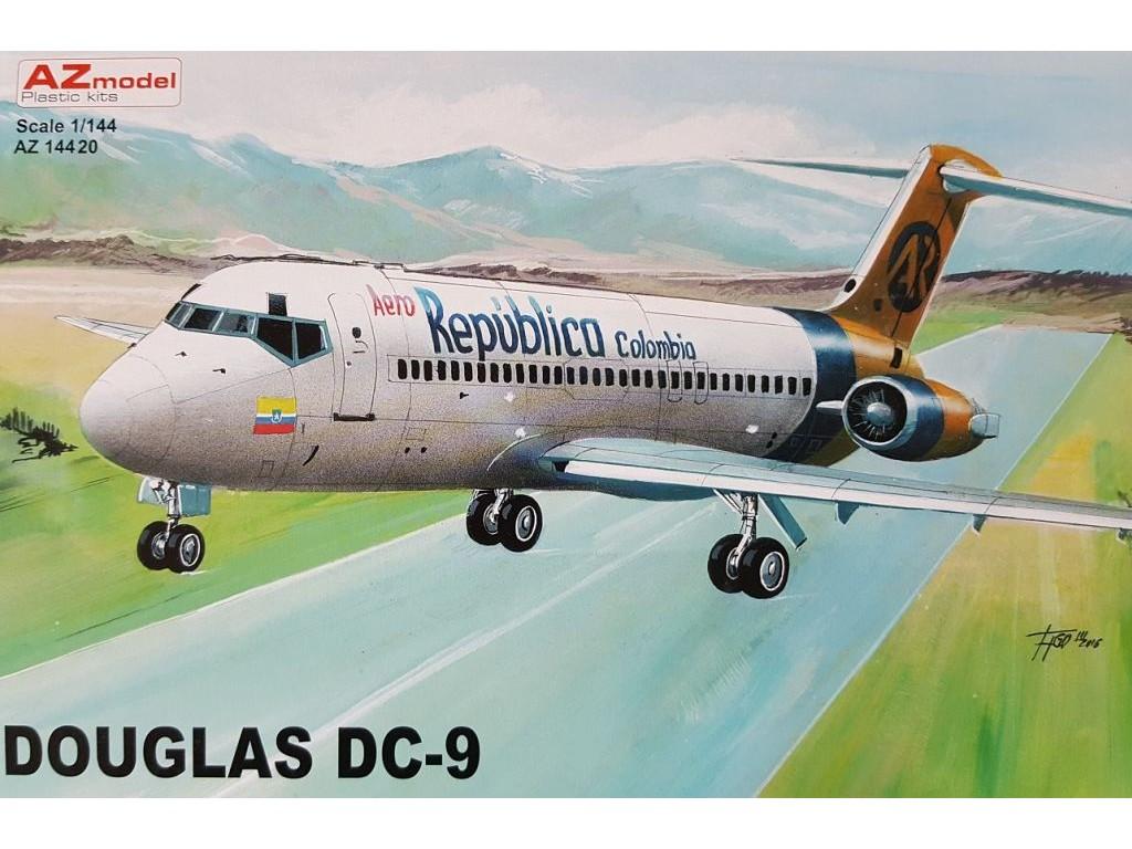 1/144 Douglas DC-9-30 Aero Colombia