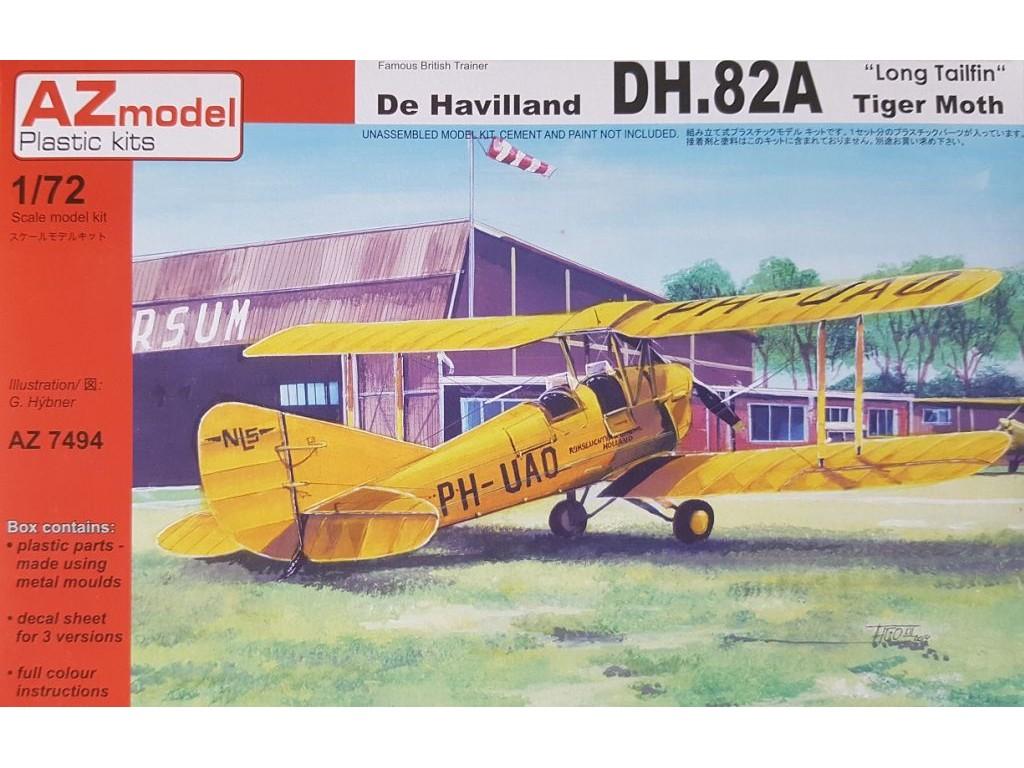 1/72 DH-82A Long tailfin