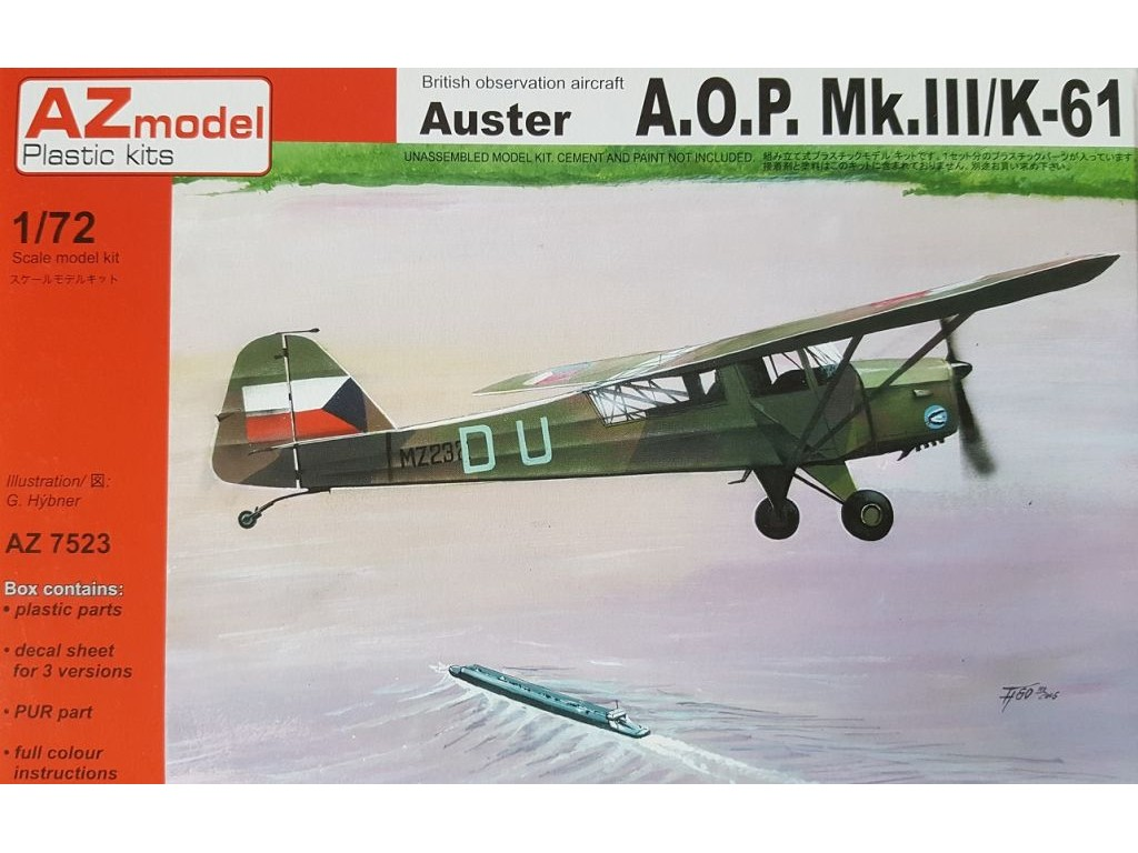 1/72 Auster AOP.Mk.III/K-61