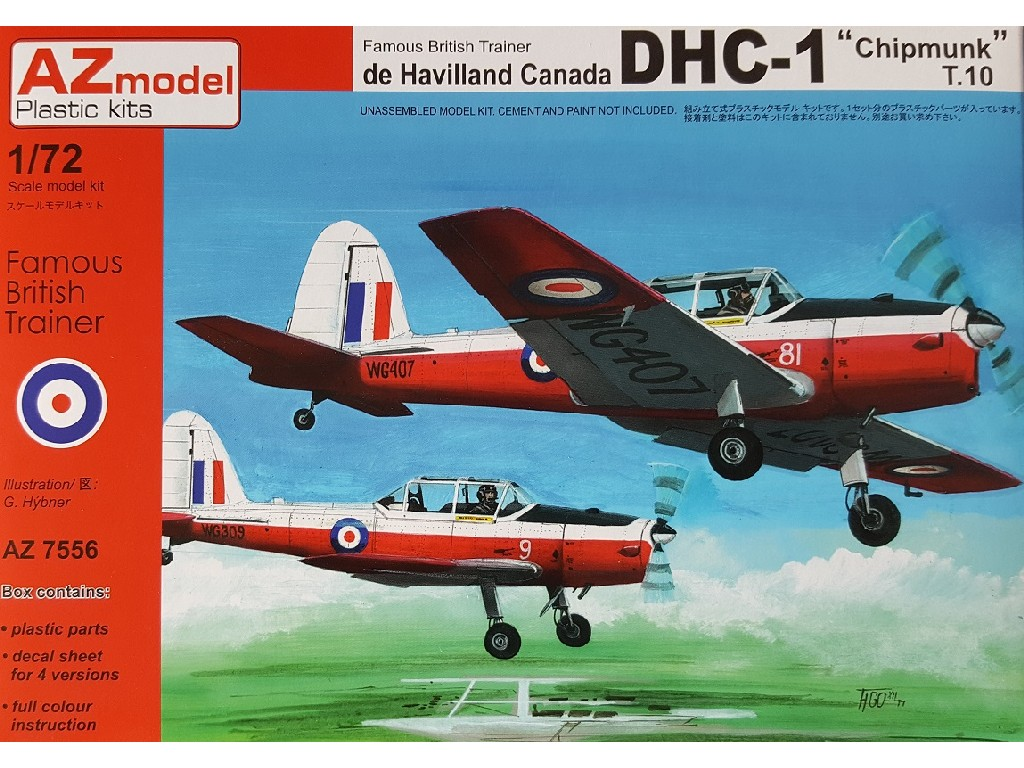 1/72 DHC-1 Chipmunk T.10 Reedition